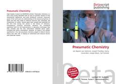 Bookcover of Pneumatic Chemistry