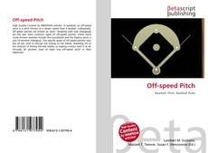 Bookcover of Off-speed Pitch