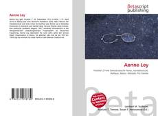 Bookcover of Aenne Ley
