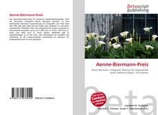 Buchcover von Aenne-Biermann-Preis