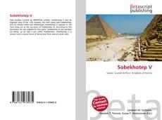 Bookcover of Sobekhotep V