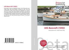 Bookcover of USS Bancroft (1892)