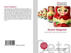 Bookcover of Russia! Magazine