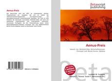 Bookcover of Aenus-Preis