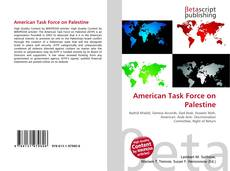 Bookcover of American Task Force on Palestine