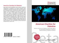 Bookcover of American Charities for Palestine