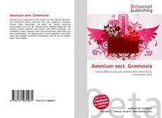 Bookcover of Aeonium sect. Greenovia