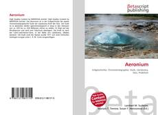 Bookcover of Aeronium