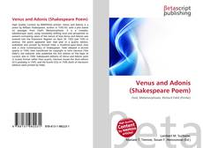Bookcover of Venus and Adonis (Shakespeare Poem)