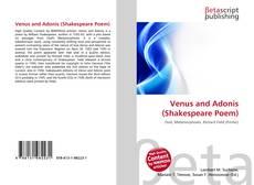 Portada del libro de Venus and Adonis (Shakespeare Poem)