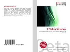 Borítókép a  PrVeltto Virtanen - hoz