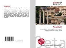 Capa do livro de Aerarium