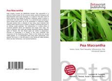Capa do livro de Poa Macrantha
