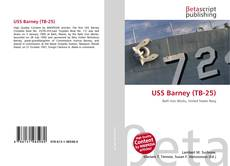 Bookcover of USS Barney (TB-25)