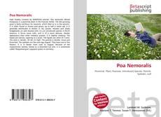 Capa do livro de Poa Nemoralis