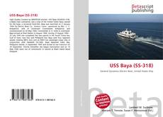 Bookcover of USS Baya (SS-318)