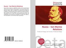 Capa do livro de Russia – San Marino Relations