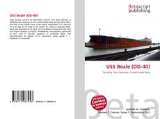 Bookcover of USS Beale (DD-40)
