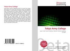 Portada del libro de Tokyo Army College