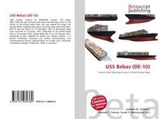 Bookcover of USS Bebas (DE-10)