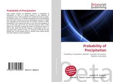 Couverture de Probability of Precipitation