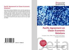 Bookcover of Pacific Agreement on Closer Economic Relations