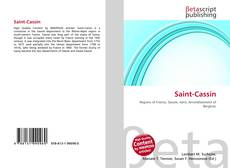 Bookcover of Saint-Cassin