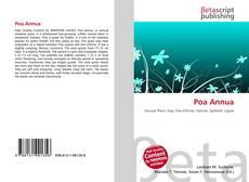 Capa do livro de Poa Annua