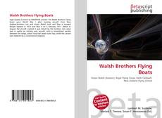 Walsh Brothers Flying Boats的封面