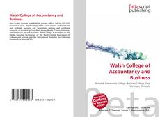 Copertina di Walsh College of Accountancy and Business