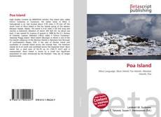 Capa do livro de Poa Island