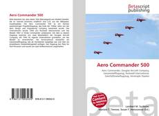 Bookcover of Aero Commander 500