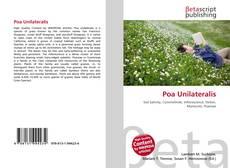 Capa do livro de Poa Unilateralis