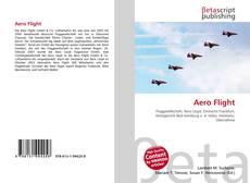 Обложка Aero Flight