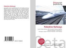 Portada del libro de Palestine Railways
