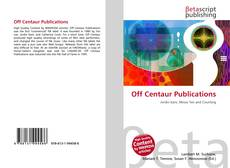 Обложка Off Centaur Publications