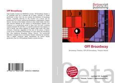 Capa do livro de Off Broadway
