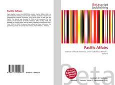 Portada del libro de Pacific Affairs