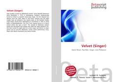 Copertina di Velvet (Singer)