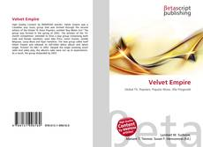 Bookcover of Velvet Empire