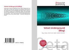 Bookcover of Velvet Underground (Blog)