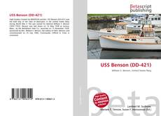 Portada del libro de USS Benson (DD-421)