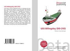 Bookcover of USS Billingsley (DD-293)