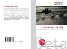 Portada del libro de USS Blackfish (SS-221)