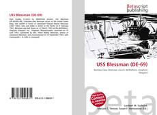 Portada del libro de USS Blessman (DE-69)