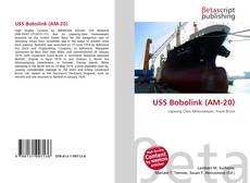 Buchcover von USS Bobolink (AM-20)