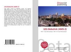 Buchcover von USS Bobolink (AMS-2)