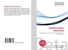 Walshaw Dean Reservoirs kitap kapağı