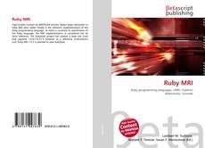 Bookcover of Ruby MRI