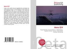 Capa do livro de Aero O/Y